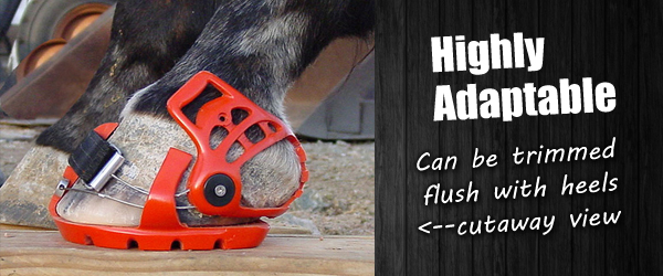 Horse Hoof Boots Adaptable