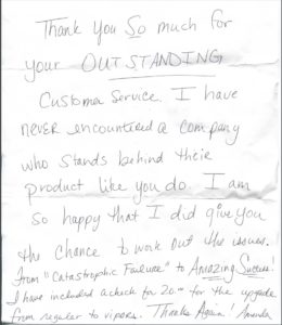 Renegade Hoof Boots Testimonial Letter